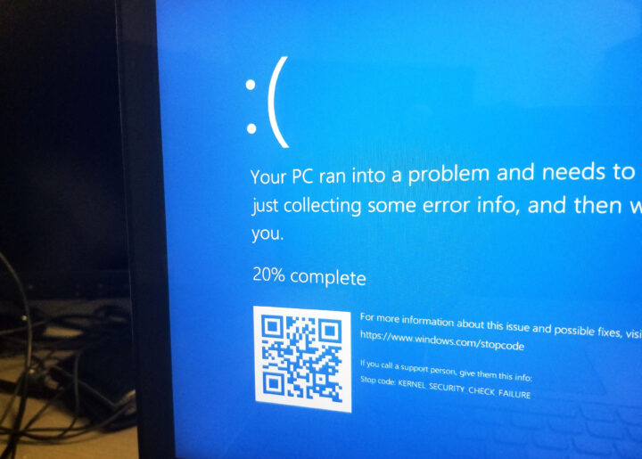 Blue Screen of Death Disaster Recovery